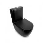 Унитаз-компакт безободковый Newarc Modern Rimless 3822B-M черный матовый