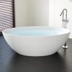 Отдельностоящая ванна из искусственного камня Badeloft BW-05-XL
