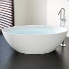 Отдельностоящая ванна из искусственного камня Badeloft BW-05-L
