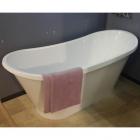 Отдельностоящая ванна из литого мрамора Fancy Marble Newton 1607 покраска борта по RAL