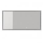 Зеркало с LED-подсветкой iStone Hannah WD2912-2F(100) рама белый матовый камень 1000