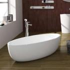 Ванна из литого камня iStone Qliuia WD6599 Glossy White глянцевый белый камень