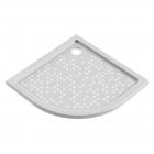 Душевой поддон из литого мрамора Snail Жасмин 900/R500 136A10 белый