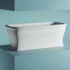 Отдельностоящая ванна из искусственного камня Artceram Neo ACW003 05 белая матовая