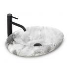 Раковина Rea Roxy Stone l.grey REA-U6651 серый