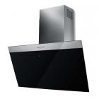 Наклонная вытяжка Kuppersbusch DW8500.0S черное стекло/нерж. сталь