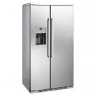 Отдельностоящий холодильник-морозильник NoFrost Kuppersbusch KE9750-0-2T нержавеющая сталь