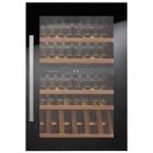 Встраиваемый винный шкаф на 52 бутылки Kuppersbusch FWK2800.0S черное стекло