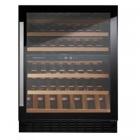 Встраиваемый под столешницу винный шкаф на 44 бутылки Kuppersbusch FWKU1800.0S черное стекло