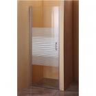 Душевая дверь в нишу Sansa SH-706 хром brushed, стекло интимато