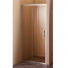 Душевая дверь в нишу Sansa SH-120AC хром brushed, стекло прозрачное