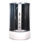 Гидромассажный бокс Sansa SK-909/40 стекло серое, профиль сатин, стенки черные