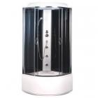 Гидромассажный бокс Sansa SK-101/40 стекло серое, профиль сатин, стенки черные
