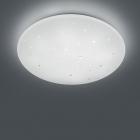 Потолочный LED-светильник c пультом и 3 режимами света Trio Reality Achat R62736000 матовый белый