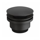 Донный клапан для раковины Genebre Oslo Black 100211 41 матовый черный