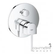 Внешняя часть смесителя для ванны/душа с переключателем на 3 потребителя Grohe Plus 24093003 хром