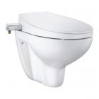 Безободковый подвесной унитаз + сидение-биде Grohe Bau Ceramic 2-в-1 39648SH0 белое
