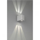 Настенный LED-светильник Trio Reality Outdoor Bogota R28200687 серебро