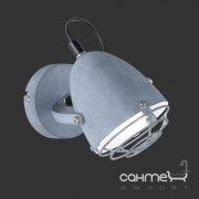 Настенный светильник Trio Reality Cammy R80391078 серый бетон