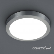 Потолочный LED-светильник Trio Cento 657012407 матовый никель