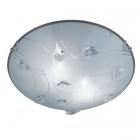 Потолочный светильник Trio Carbonado 602400206 матовое стекло/кристаллы