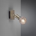 Настенный светильник Trio Carl 800570104 состаренная бронза