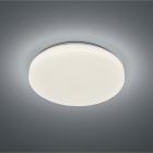 Потолочный LED-светильник с дистанционным управлением Trio Reality RGB Chara R67111201 белый