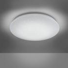 Потолочный LED-светильник с дистанционным управлением Trio RGB Charly 656010100 белый