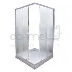 Душевая кабина с низким поддоном Delfi 103-5 профиль сатин/стекло фабрик