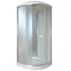 Душевой бокс Q-tap SB8080.1 SAT профиль сатин, стекло фабрик