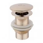 Донный клапан Q-tap Liberty ORO L03 золото