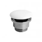 Донный клапан для раковин Simas Agile PLC Ceramica Bianco Matt белая матовая керамика