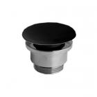 Донный клапан для раковин Simas Agile PLC Ceramica Nero Matt черная матовая керамика