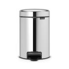 Бак для мусора с педалью Brabantia New Icon 113147 3л полированная сталь