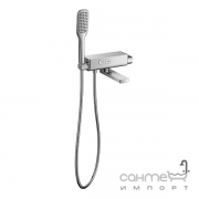 Смеситель-термостат для ванны с душевым гарнитуром Imprese Smart Click ZMK101901040 хром