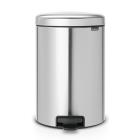 Бак для мусора с педалью Brabantia New Icon 111907 20л матовая сталь