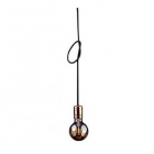 Светильник подвесной Nowodvorski Cable black 9747 латунь