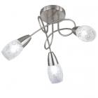 Люстра Trio Reality Colmar R60023007 матовый никель/стекло сатин