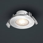 Точечный LED-светильник Trio Compo 629510105 алюминий браш