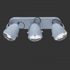 Спот на 3 лампы Trio Reality Cammy R80393078 серый бетон