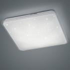 Потолочный LED-светильник с эффектом звездного неба Trio Contrast 657910100 белый