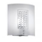 Настенный светильник Trio Cormint 204000106 белое матовое стекло/кристаллы
