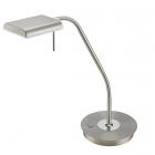 Настольная LED-лампа Trio Bergamo 520910107 матовый никель