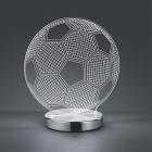 Настольная LED-лампа Trio Reality Ball R52471106 хром/прозрачный пластик
