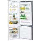 Встраиваемый двухкамерный холодильник с нижней морозильной камерой Whirlpool SP40 801 EU