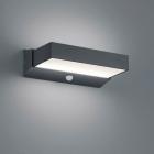 Настенный LED-светильник с датчиком движения Trio Outdoor Cuando 226669242 алюминий антрацит
