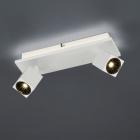 Спот на 2 LED-лампы Trio Cuba 828510331 матовый белый