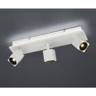 Спот на 3 LED-лампы Trio Cuba 828510431 матовый белый