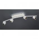 Спот на 4 LED-лампы Trio Cuba 828510531 матовый белый