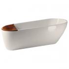 Ванна овальная композитная Kerasan Aquatech 3750 01